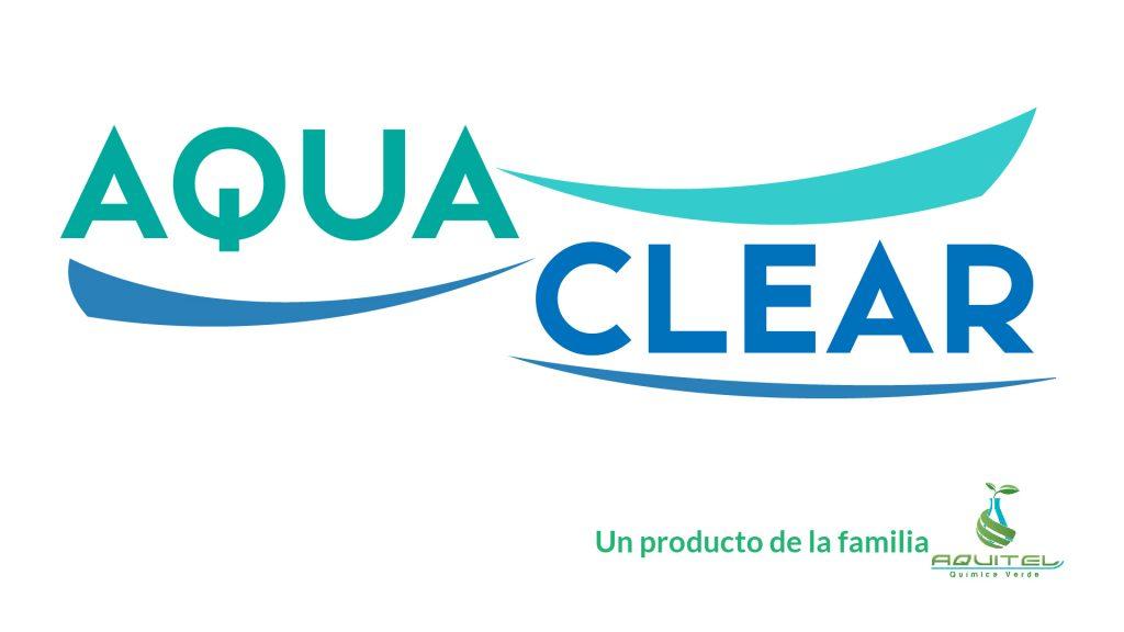 Logotipo Aqua Clear descalcificador de torres de enfriamiento